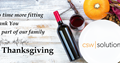 CSW Thanksgiving